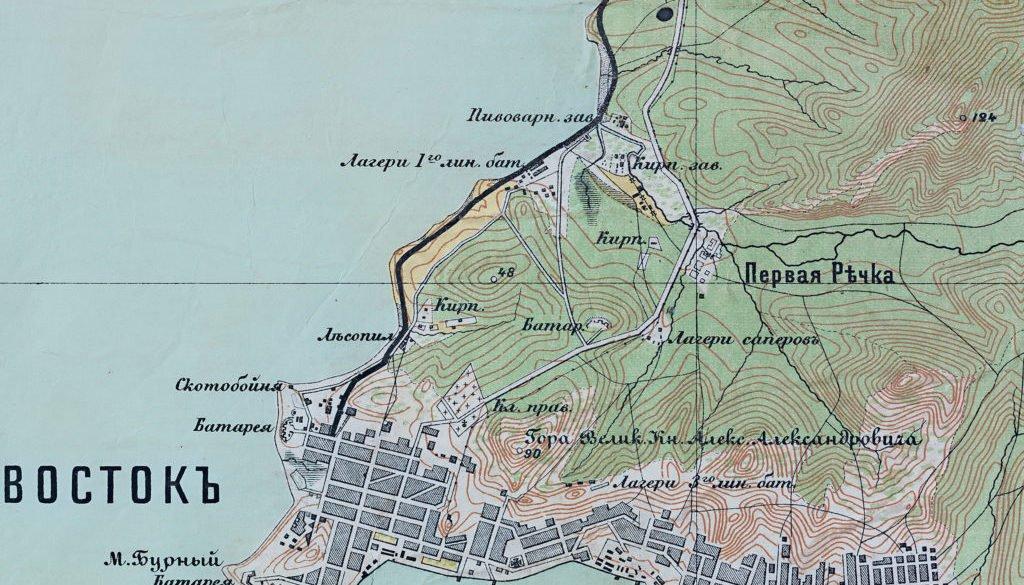 Карта полуострова Муравьева-Амурского